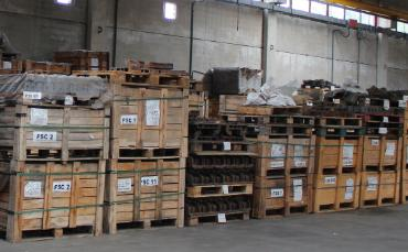 Special small spare parts Warehouse